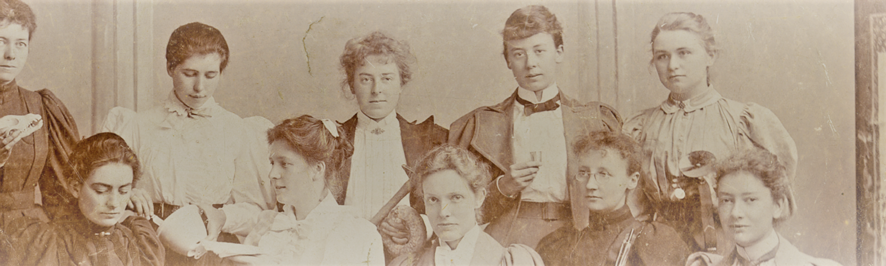 Women Scientists c 1890