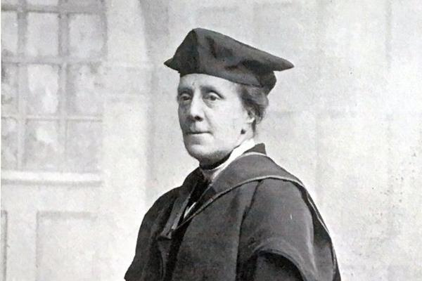 Annie Rodgers (1920 degree ceremony)