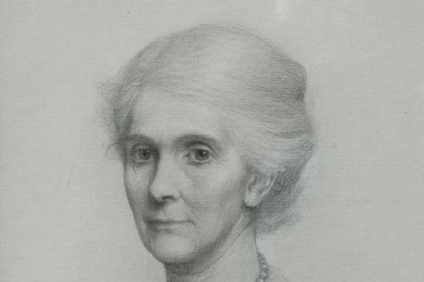 Lavinia Talbot (frank bernard dicksee public domain)