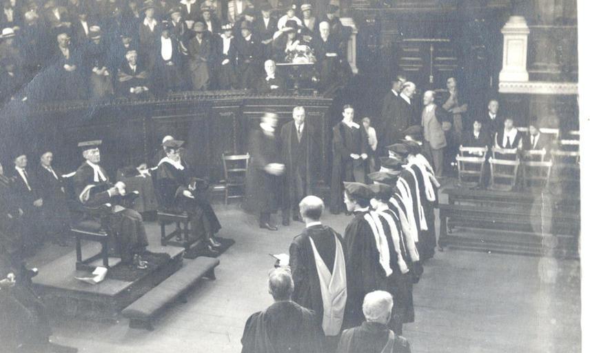 Degree Day, October 1920.