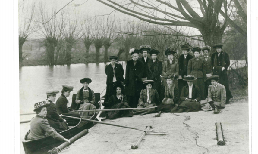 Home Students, 1906. Copyright @ St Anne's College