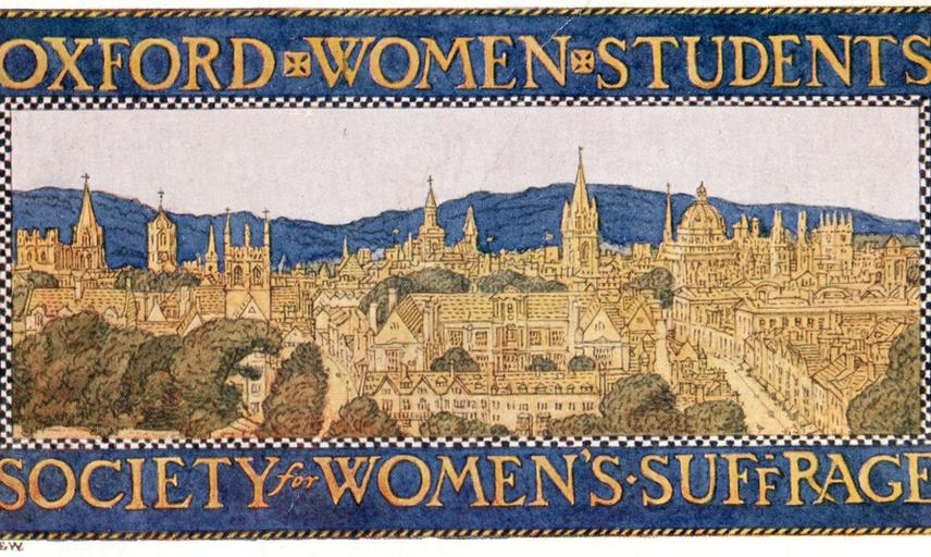 oxford women students suffrage society