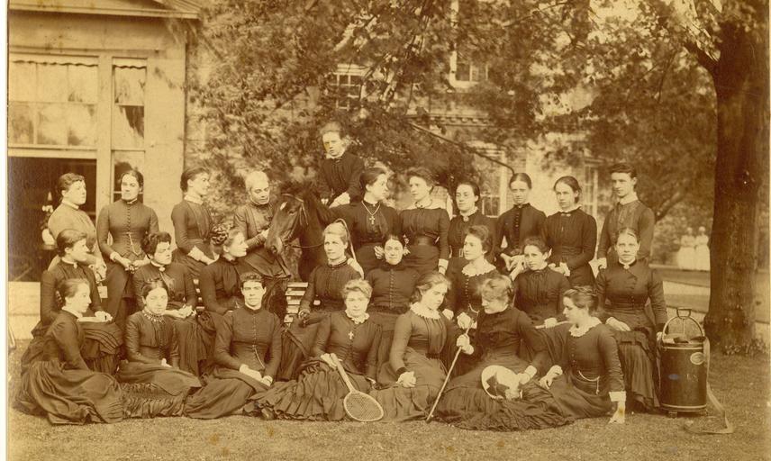 Somerville College c 1885. Copyright @ Somerville College