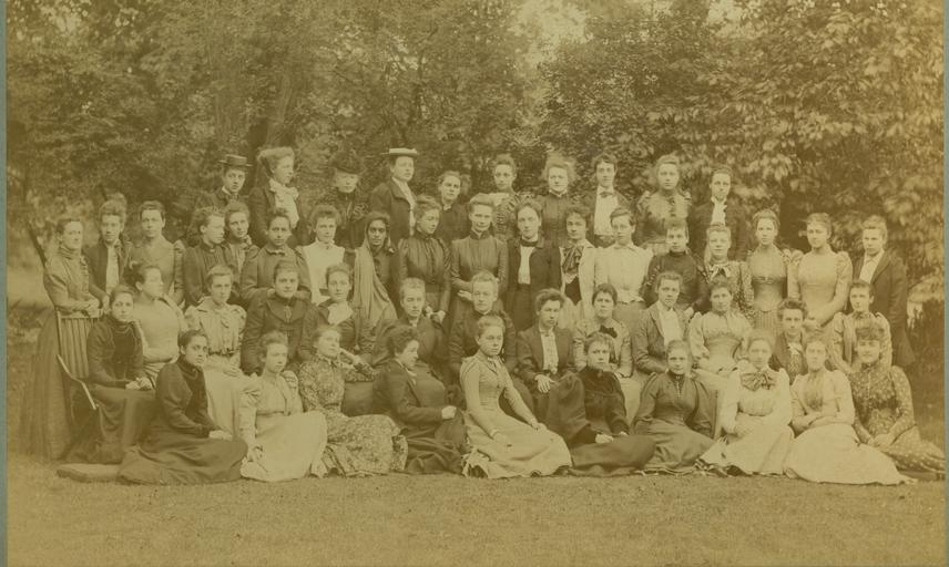 Somerville College c 1892. Copyright @ Somerville College